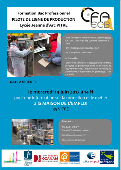 AFFICHE BAC PRO PLP mai 2017 red
